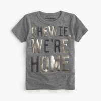 "Boys Star Wars For crewcuts ""chewie, We're Home"" T-Shirt"