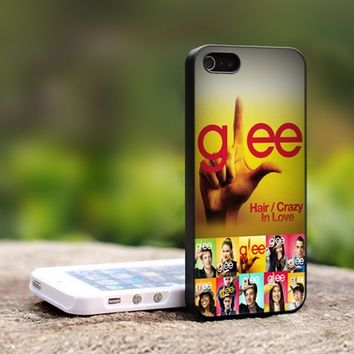Glee TV Drama Series Logo - For iPhone 4,4S Black Case Cover