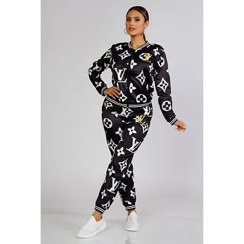 Loucille Two Piece Jogger Set
