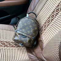 LV Louis Vuitton WOMEN'S MONOGRAM LEATHER MINI PACKBACK BAG