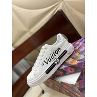 LV Louis Vuitton  Women Casual Shoes Boots fashionable casual leather12