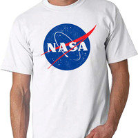 NASA insignia Adult Men's T-shirt Sizes S-3XL