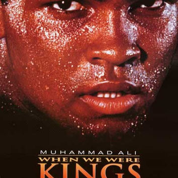 Muhammad Ali When We Were Kings Movie Poster 27x40