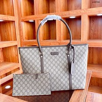 GUCCI new women's retro large-capacity shopping bag handbag