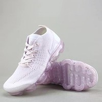 Trendsetter Nike Air Vapormax Flyknit 2  Women Men Fashion Casual Sneakers Sport Shoes