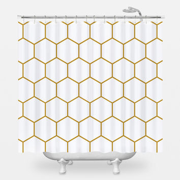 F. Scott Fitzgerald Shower Curtain