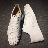 Cl Christian Louboutin Low Style #2083 Sneakers Fashion Shoes
