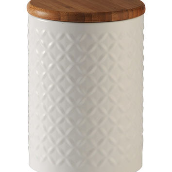 Diamond Embossed Canister