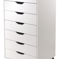 Winsome 7-Drawer Halifax Mobile Cabinet