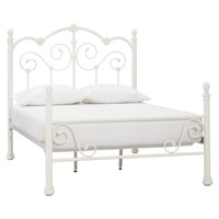 Amanda Iron Scroll Bed