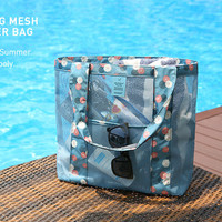 2016 New Arrival Outdoor Organizer Multifunctional Sport Swimming Bags high quality Beach Storage Bag 4 Colors AC09