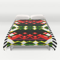 SOMETHING WICKED Duvet Cover by Chrisb Marquez
