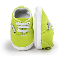 Newborn Baby Girl Boy Soft Sole Shoes Toddler Anti-skid Sneaker Shoes Casual Prewalker