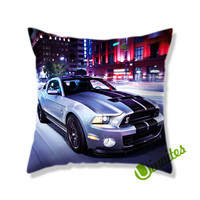 Mustang GT500 (2) Square Pillow Cover