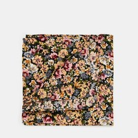 ASOS Pocket Square In Ditsy Floral
