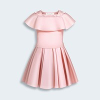 BABY DIOR EXCLUSIVE COLLECTION DRESS IN ORGANZA AND TULLE