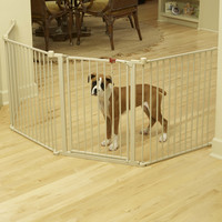 "Carlson Pet 28"" Convertible Yard Exercise Dog Pen"
