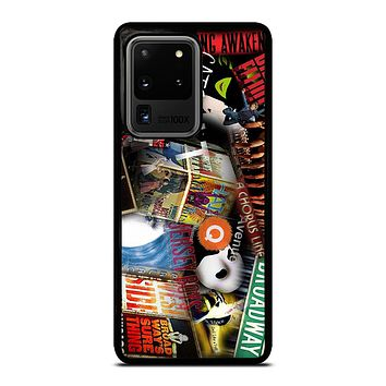 BROADWAY MUSICAL COLLAGE Samsung Galaxy S20 Ultra Case Cover