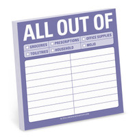 Knock Knock All Out Of Sticky Notes - 50% Off!