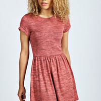 Kerry Space Dye Knitted Skater Dress