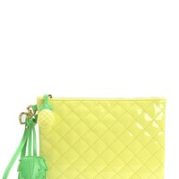 Lemonade Palm Oasis Pineapple Wristlet by Juicy Couture, O/S