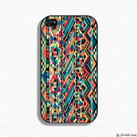 Iphone Case Aztec Design for Iphone 4 and Iphone by fundakcases