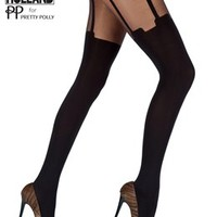 Super Suspender Tights by Henry Holland House of Holland for Pretty Polly