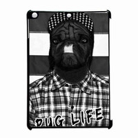 Funny Pug Life 2 iPad Air Case