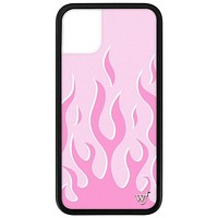 Flames iPhone 11 Case | Pink