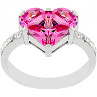 Sweetheart Engagement Ring