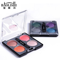 baolishi best smokey nude big eyeshadow palette naked matte pink eye shadow urban professional brand makeup