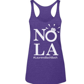 Personalized New Orleans Bachelorette Party Tank