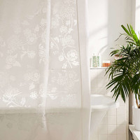 Shiro Floral Shower Curtain - Urban Outfitters