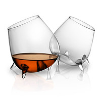 Hand Warming Cognac Glasses - Set Of 2