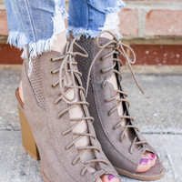 Lead the Charge Booties