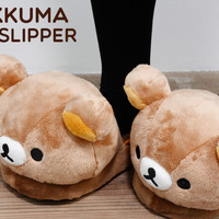 Attractive San-X Characters Plush Style Winter Home Slippers on HAMEE!!!