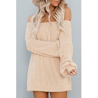Looking For More Sweater (Beige)