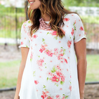 For The Love of Floral Top