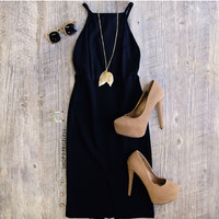 Rosamund Dress - Black