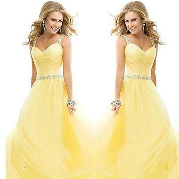 Sexy Women And Cute Girl Brief Bridesmaid Ball Prom Gown Forma Party Hatter  Evening Long Dresses