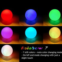 7Colors Changing Ball LED Light Mood Lamp Night Light for Baby Kid Children Gift Home Party Wedding Romantic Decor Free Shipping