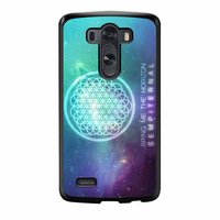 Bring Me The Horizon Sempiternal Blue Galaxy LG G3 Case