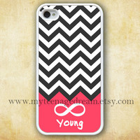 chevron iphone 4 case, infinity iphone 4 case, Forever young iphone 4 case, white iphone 4s case
