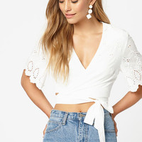 Moving Stars Crop Top