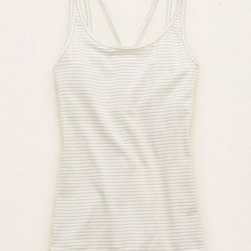 Aerie Strappy Back Cami , Royal Navy | Aerie for American Eagle