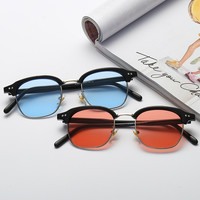 Sea Korean Stylish Glasses Couple Star Sunglasses [10688235911]