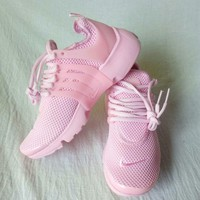 NIKE Air Presto Trending Women Casual Running Sport Shoes Sneakers Pure Pink I