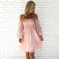 Light As A Feather Dress In Pink