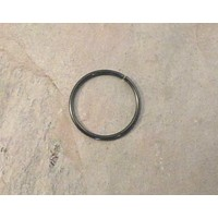 Black Cartilage Hoop Septum Tragus Nose Ring Upper Ear Piercing 20 Gauge