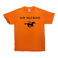 Camp Half-Blood T-Shirt Percy Jackson Shirt Movie T Shirt Greek Demigod Greek Mythology Shirt Long Island Sound Mens Ladies Tee - SA19